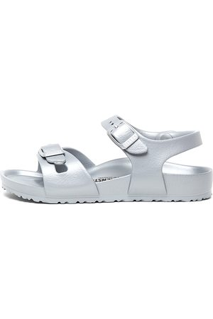 Birkenstock Rio Kids Eva Jnr Bk Metallic Sandals Girls Shoes Casual Sandals Flat Sandals