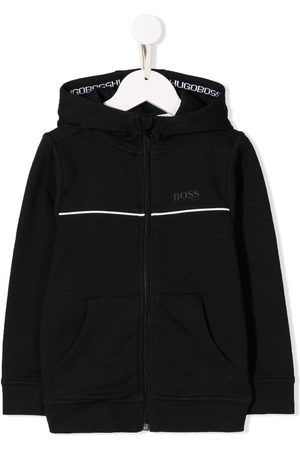 HUGO BOSS Boys Hoodies - Contrast logo jacket