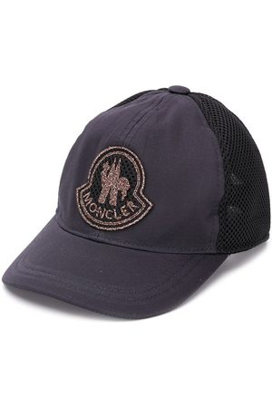 Moncler Logo patch baseball cap