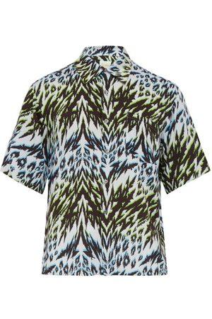 ARIES Animal Hawaiian Print Short Sleeved Shirt - Mens - Multi