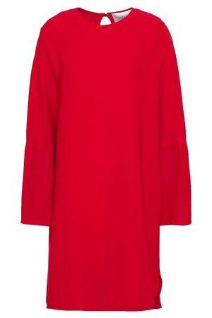 Valentino Women Mini Dresses - Woman Silk-crepe Mini Dress Size 8