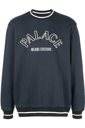 PALACE Logo embroidered sweatshirt