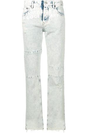 MM6 MAISON MARGIELA Panelled straight-leg jeans