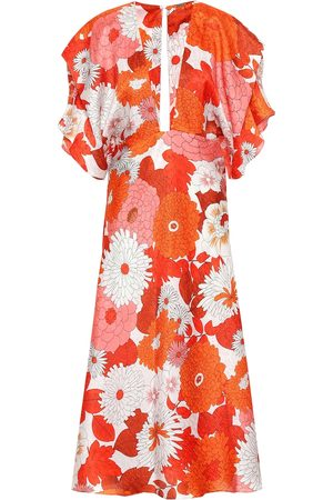 DODO BAR OR Floral silk jacquard dress