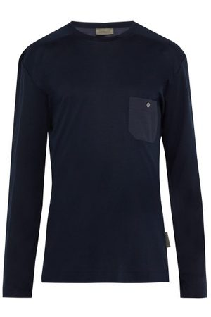 Zimmerli Jersey Lounge Shirt - Mens - Navy