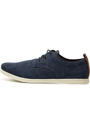 Wild Rhino Dust Wr Navy Shoes Mens Shoes Casual Flat Shoes