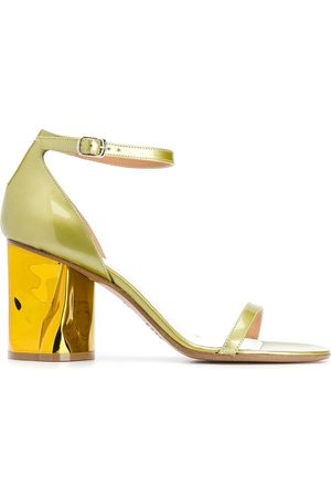 Maison Margiela Women Heeled Sandals - Bent heeled sandals