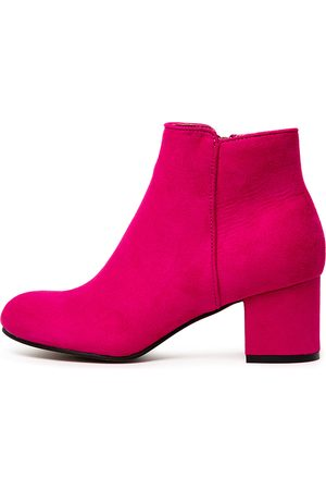 I LOVE BILLY Women Ankle Boots - Karda Fuchsia Boots Womens Shoes Ankle Boots