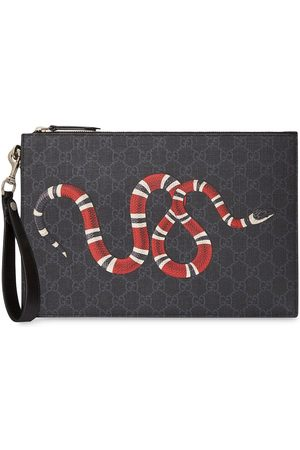 4e76c1f9d29 Men  Wallets  Gucci. Gucci GG pouch with kingsnake