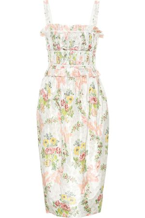 BROCK COLLECTION Exclusive to Mytheresa – Palmira floral silk-blend dress