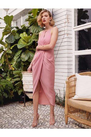 Forever New Elizabeth Wrap Soft Maxi Dress