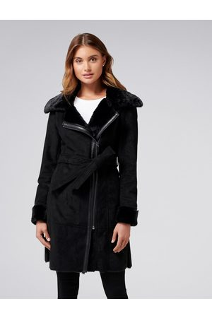 Forever New Rylee Shearling Coat