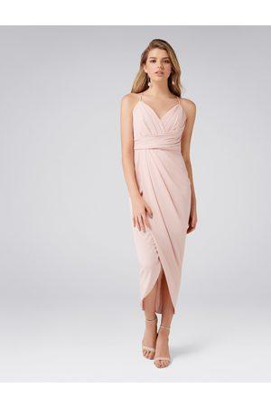 Forever New Charlotte Petite Drape Maxi Dress