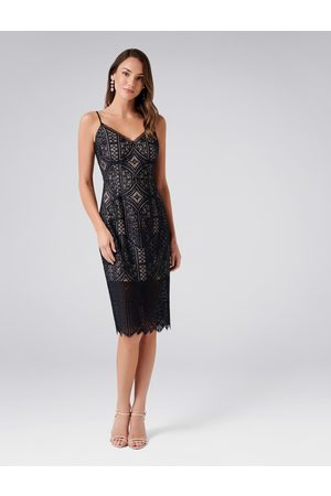 Forever New Eliza Lace Pencil Dress