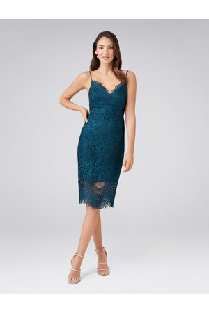 Forever New Women Pencil Dresses - Amelie Lace Pencil Dress