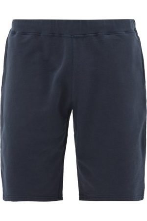 Sunspel Mid Rise Cotton Jersey Shorts - Mens - Navy