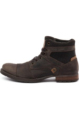 Wild Rhino Dalby Dark Boots Mens Shoes Casual Ankle Boots