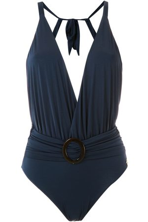 Brigitte Swimsuit with buckle detail