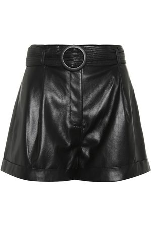 Nanushka Exclusive to Mytheresa – Joyce faux leather shorts