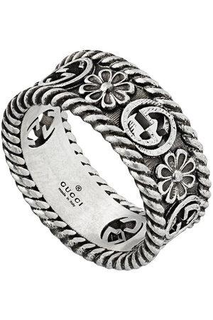 Gucci GG motif cut-out ring