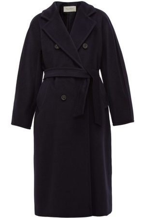 Max Mara Madame Coat - Womens - Navy