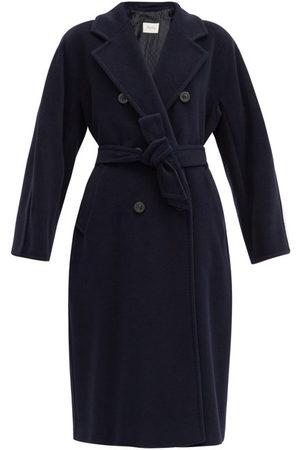 Max Mara Women Coats - Madame Coat - Womens - Navy