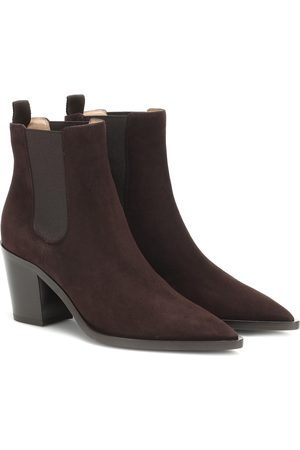 Gianvito Rossi Romney 70 suede ankle boots