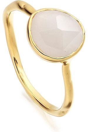 Monica Vinader Siren Stacking Moonstone ring