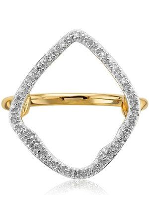 Monica Vinader Riva Hoop Cocktail Diamond ring