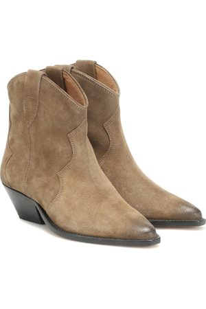 Isabel Marant Ankle Boots - Dewina suede ankle boots