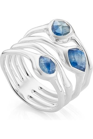 Monica Vinader Siren Cluster Cocktail Kyanite ring