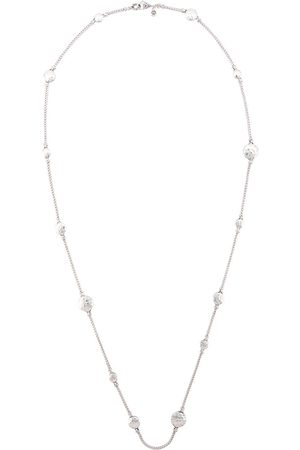 John Hardy Dot Hammered station necklace
