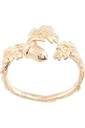 Karen Walker Acorn and leaf ring