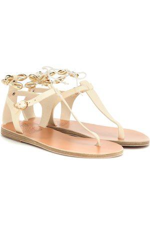 Ancient Greek Sandals Asimina Shells leather sandals