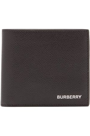 Burberry Grained Leather Wallet - Mens