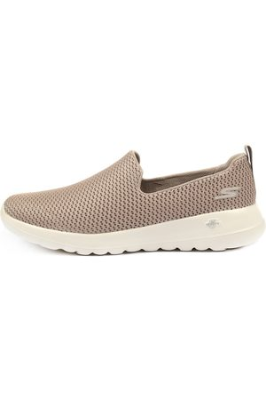 Skechers 15600 Go Walk Joy Taupe Sneakers Womens Shoes Casual Casual Sneakers
