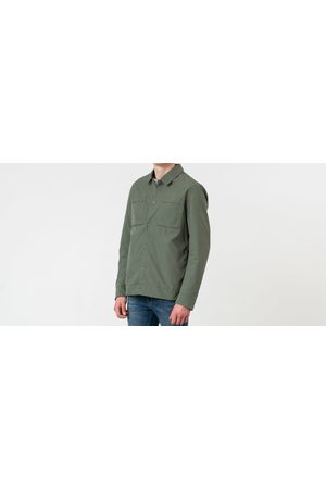 Selected Icon Shirt Jacket Thyme
