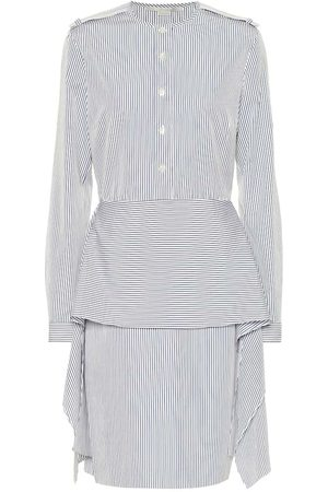 Stella McCartney Striped cotton shirt dress