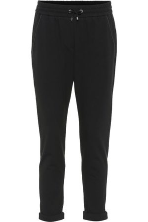 Brunello Cucinelli Stretch-cotton trackpants