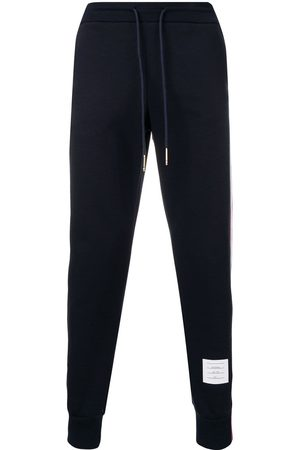 Thom Browne Rwb Stripe Loopback Sweatpants