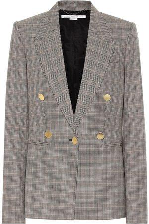 Stella McCartney Checked wool blazer