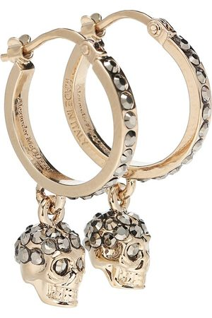 Alexander McQueen Skull crystal-embellished earrings