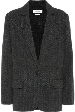 Isabel Marant, Étoile Outdoor Jackets - Charly herringbone wool jacket