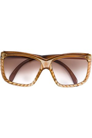 Dior 1960s rope effect oversized glasses