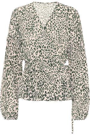 Baum und Pferdgarten Blouses - Monia printed silk-blend blouse