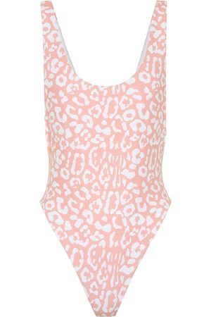 Reina Olga Swimsuits - Exclusive to Mytheresa – Funky leopard-print swimsuit