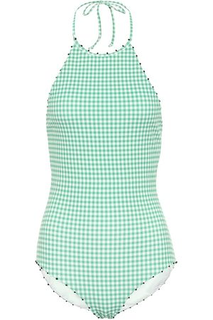 Marysia Exclusive to Mytheresa – French Mott gingham swimsuit
