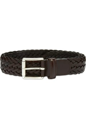 Anderson's Men Belts - Anderson's Woven Leather Belt