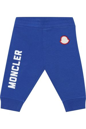Moncler Joggers - Baby stretch-cotton trackpants