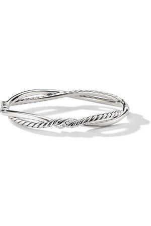 David Yurman Women Bracelets - Continuance Small Station diamond bracelet